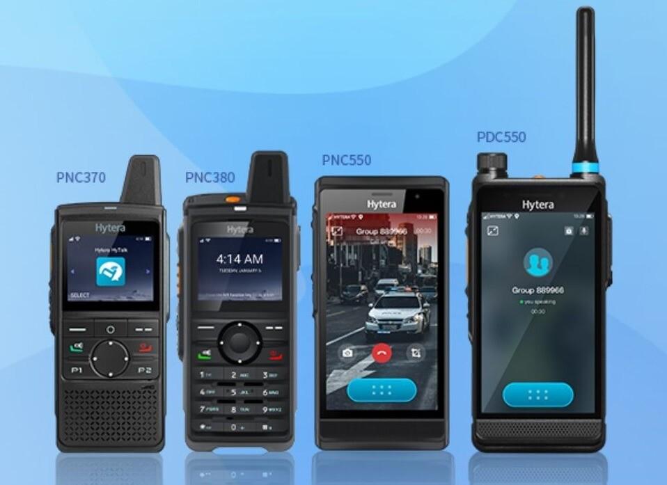 LTE vysílačky využívají moderní PoC technologie, které zajistí spolehlivé spojení bez omezení